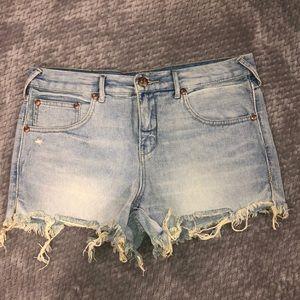 Free People Denim Shorts - 29